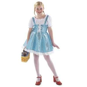 Blue Sparkle Dress Child Costume, 38218
