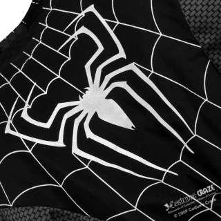 Super Deluxe Black Spider Man Costume   Spiderman Costumes