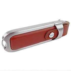 € 24.90   8gb prima una unidad flash USB con correa de cuero (rojo