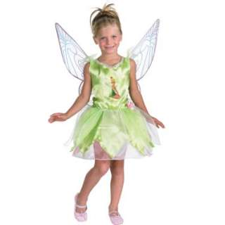 Halloween Costumes Disney Faeries Tinker Bell Child Costume