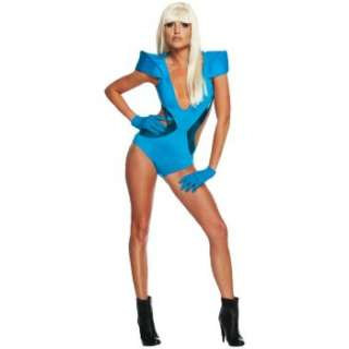 Lady GaGa Blue Swimsuit Adult Costume Ratings & Reviews   BuyCostumes