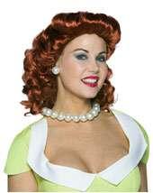 AUBURN SALOON GIRL WIG Wholesale Price $7.90 In Stock Ragdoll Wig