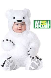 Animal Planet Polar Bear Toddler Costume for Halloween   Pure Costumes