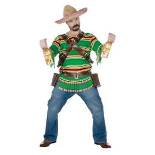 Adult Tequila Bandito Costume   Funny Halloween Costumes   15FW119434