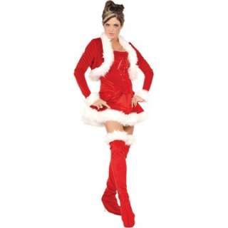 Adult Sexy Ms. Claus Costume   Sexy Christmas Costumes   15UR28840