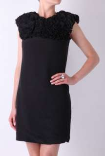 Ruffle Shift Dress by Paul Smith Black   Black   Buy Dresses Online at