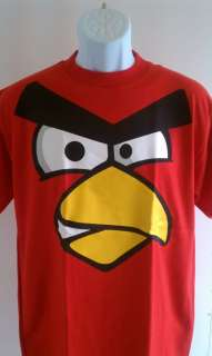 ANGRY BIRDS T SHIRT SM XL NEW TSHIRT ANGRYBIRDS