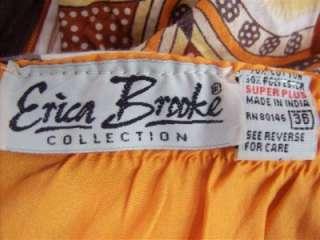 Plus Size Erica Brooke Patterned Sexy Cute Summer Sun Dress 6X 36