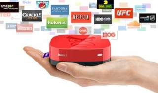 Roku 2 XS Angry Birds Limited Edition Streaming Player Red 1080p
