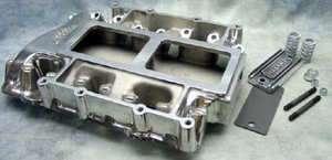 354 392 Chrysler hemi Polished 671 blower supercharger manifold
