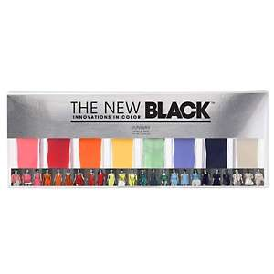New Black 8 piece Runway Color Nail Lacquer Set   Barometer