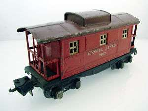 Lionel Lines #2657 Model Caboose Car Vintage USA Made