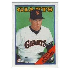 1988 San Francisco Giants Topps Team Set Sports