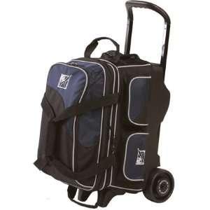 Kr Se Double Roller Bag Black/cobalt Blue Sports