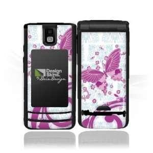 Design Skins for Nokia 6650   Pink Butterfly Design Folie