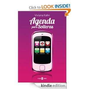Agenda para solteras (Spanish Edition) KAHN VIVIANA