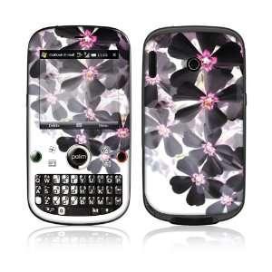 Palm Treo Plus Skin Decal Sticker  Asian Flower Paint
