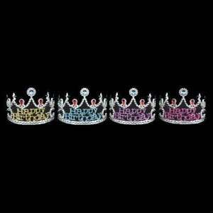 Birthday Star   Tiara / Silver   Assorted Colors Toys