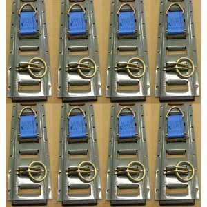 32 Piece E Track Kit for Enclosed TOY Trailers and Motorcycle Trailers