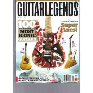 Guitar Legends Magazine (Super Axes, March29,2011) Various Books