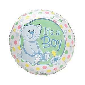 Teddy Bear 18 Mylar Foil Baby Shower Party Balloon