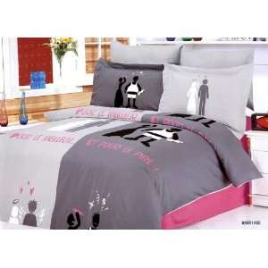 Bed in Bag Full Queen Bedding Set By Arya Bedding Home & Kitchen