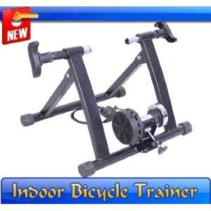 Black Magnetic Bicycle Bike Trainer Stand