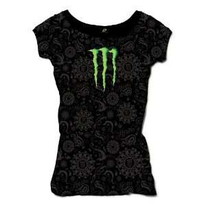 One Industries Monster Shine T Shirt   Large/Black Automotive