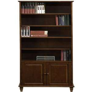 Chesterfield Bookcase With Wood door Cabinet
