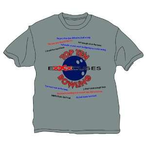 Top 10 Excuses About Bowling T Shirt  2 Colors
