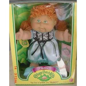 Cabbage Patch Kids Classics Doll   Caucasian Girl/ Red Yarn Hair
