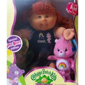 Cabbage Patch Kids Girl Doll   Special Care Bears Edition