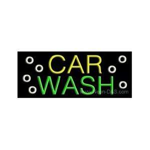 Car Wash Outdoor Neon Sign 13 x 32