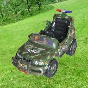 Toy Car Jeep Power Electric Kids Ride on Radio Remote Control Car