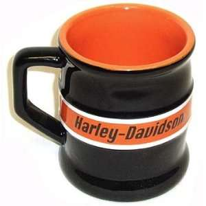 Harley Davidson Motorcyles Racing Stripe Relief Coffee Mug