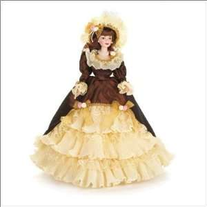 Porcelain Collectible Victorian Doll: Toys & Games