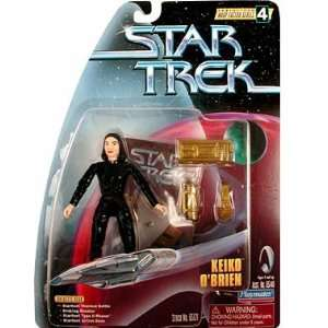 Star Trek Warp Factor Series 4  Keiko OBrien Action Figure Toys