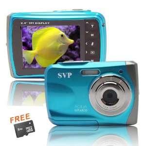 8GB MicroSD card included) Underwater Digital Camera