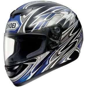 Shoei TZ R Stratum TC 2 Full Face Motorcycle Helmet Blue
