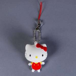 Hello Kitty Figure Key Chain Ring Keychain Pink Toys