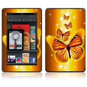 of Gold Design Decorative Skin Decal Sticker for  Kindle Fire