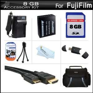 8GB Accessories Kit For Fuji Fujifilm X Pro 1, X Pro1