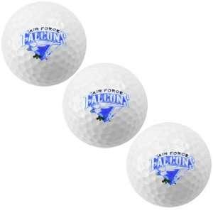 Air Force Falcons 3 Pack Golf Balls