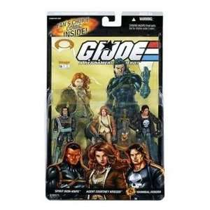 Gi Joe 3 Pack Spirit , Courtney Krieger , Hannibal Reborn