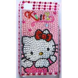 Koolshop Hello Kitty Angel Pink Bling Rhinestone iPhone 4
