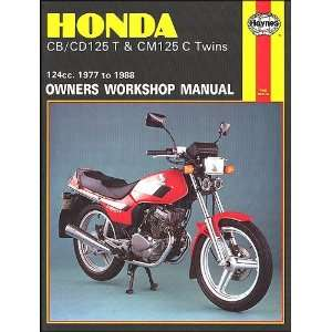 Honda Cb/Cd125t and Cm125c Twins 1977 88 Owners Workshop