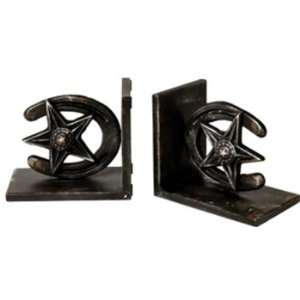 Metal Book End  Star/Horseshoe Case Pack 16: Office Products