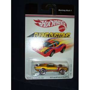 Hot Wheels Flying Customs Mustang Funny Car Red Line  Toys & Games
