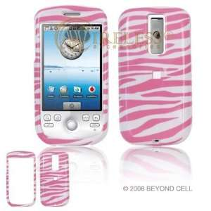 HTC G2 PDA Pink/White Zebra Design Protective Case Faceplate Cover
