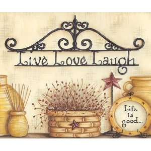 Live Love Laugh Wallpaper Border